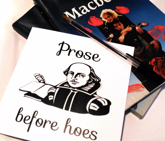 Shakespeare Greetings Card